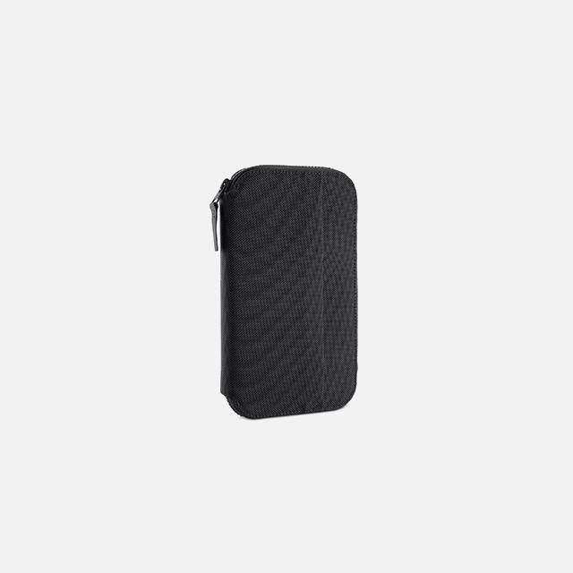 Travel Zip Wallet Black